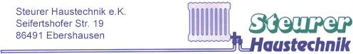 Steurer Haustechnik Logo